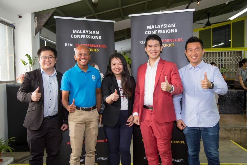 From Left: Kean Peng, Azran, Rachel, Michael, and CK Chang